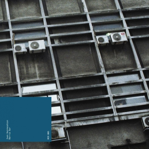 "( MER 005 ) Juan DAIRECSHION - Barrio Sur (12"") Montevideo Electric Recordings Germany"