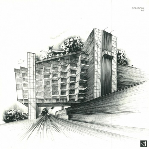 ( BERGAMON 08 ) VARIOUS - Directions (gatefold 180 gram vinyl 2xLP) Berg Audio France