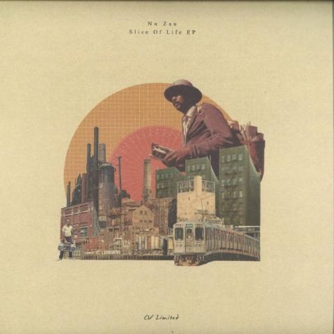"( CVLTD 003 ) NU ZAU - Slice Of Life EP (12"") Curtea Veche"