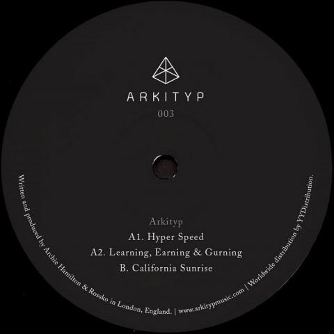 "( AKTP 003 ) ARKITYP - Pyramids Of Geezer EP (12"") Arkityp"
