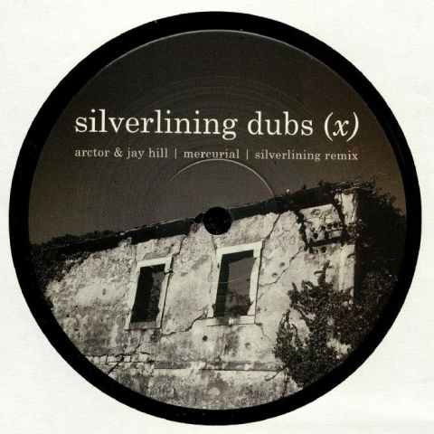 "( SVD 010 ) ARCTOR / JAY HILL / RAVI McARTHUR / SPOOK IN THE HOUSE - Silverlining Dubs (x) (Silverlining mix) (180 gram vinyl 12"") Silverlining Dubs"