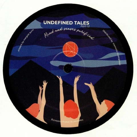 "( UNDF 010 ) Alex PICONE / CHARONNE / COBERT - Undefined Tales Part 1.2: Mind & Senses Purified (12"") Undefined Holland"