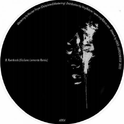 """( AUROOM 004 ) Oana LECA / NILS WEIMANN - Ritmic EP (12"""") Auroom Germany"""