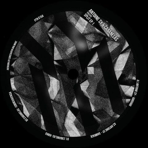 "( PTN 015A ) Antoine SY / CABANELAS - Split EP 1 (12"") Partisan UK"