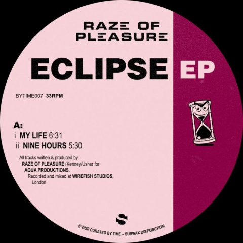 "( BYTIME 007 ) RAZE OF PLEASURE - Eclipse EP (reissue) (12"") Curated By Time Spain"