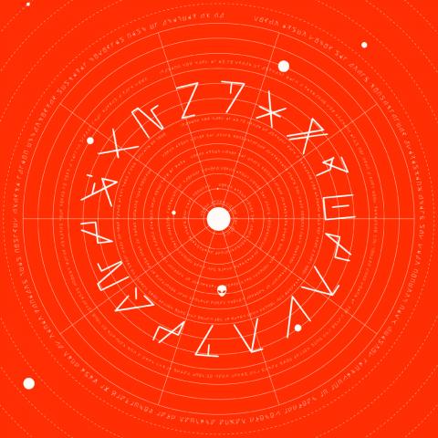"( LONELY 006 ) EVERSINES & CAIM - Split EP ( 12"" vinyl ) Lonely Planets Rec"