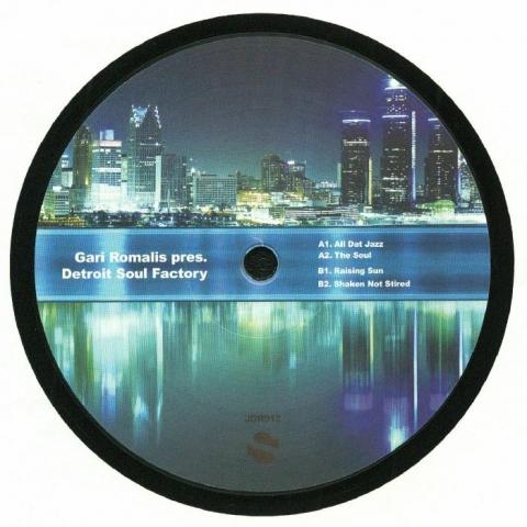"( JDR 012 ) Gari ROMALIS presents DETROIT SOUL FACTORY - All Dat Jazz (12"") JD Spain"