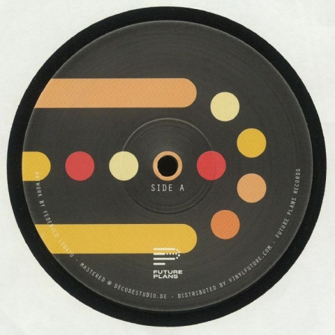 "( FTPL 006 ) Darren ALLEN - Horrorscope EP (12"") Future Plans Germany"