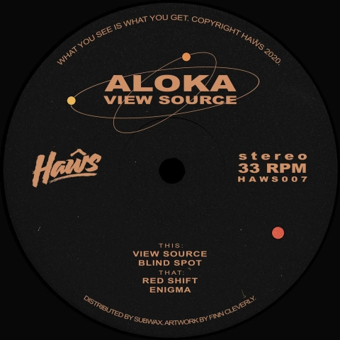 "( HAWS 007 ) ALOKA - View Source (12"") Haws"