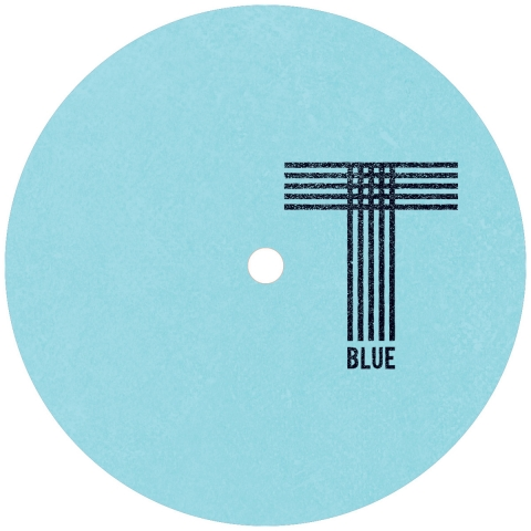 "( TQR 022V ) HOWL ENSEMBLE - Be Punk As Fuck EP (blue marbled vinyl 12"") Turquoise Blue"