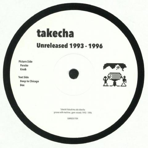 "( GWM 201709. Rel ) TAKECHA -  Unreleased 1993-1996 (12"") - GWM Japan"