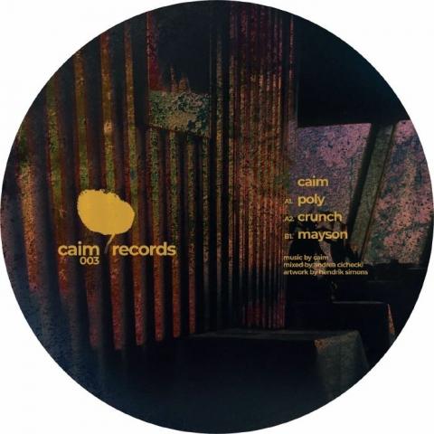 """( CAIM  003 ) CAIM - Mayson EP (12"""") Caim Holland"""