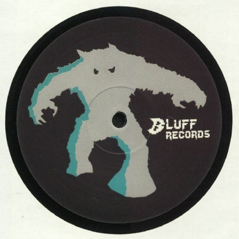 "( BLUFF 001 ) VOY-E - Bluff 001 ( 12"" vinyl ) Bluff Records"