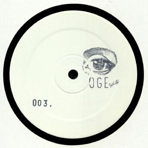 """( OGEWHITE 003 )  OGE WHITE - OGEWHITE 003 (hand-stamped 12"""") OGE White"""