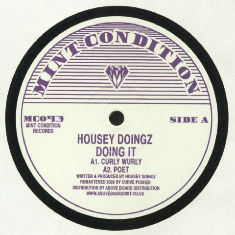 "( MC 043 ) HOUSEY DOINGZ - Doing It (12"") Mint Condition"