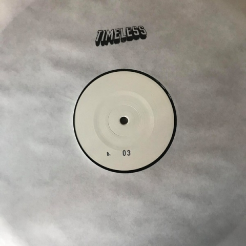 "( TL 03 )  EVAN BAGGS - Untitled  (12"" White Label, HandStamped) Timeless"