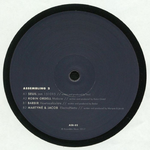 "( ASB 2 ) SEUIL / ROBIN ORDELL / BARBIR / MARTYNE / JACOB  - Assembling 2 (12"") - Assemble Music Portugal"