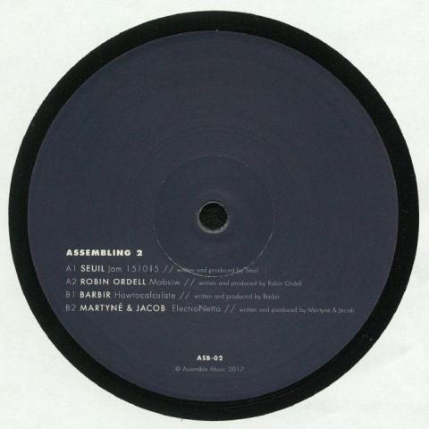 "( ASB 2 ) SEUIL / ROBIN ORDELL / BARBIR / MARTYNE / JACOB  - Assembling 2 (12"") - Assemble Music Portugal"