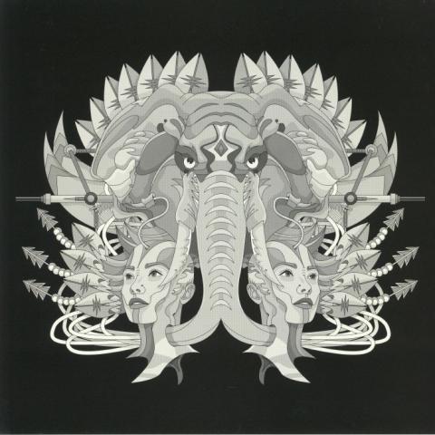 "( BOND 12051 ) Nima GORJI - White  Metal Rat EP (heavyweight vinyl 12"") Bondage Germany"