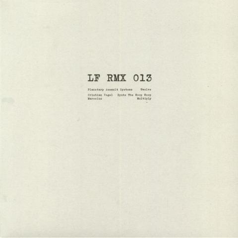 "( LFRMX 013 ) PLANETARY ASSAULT SYSTEMS / CRISTIAN VOGEL / MARCELUS - LFRMX 013 (clear vinyl 12"") LF RMX Germany"