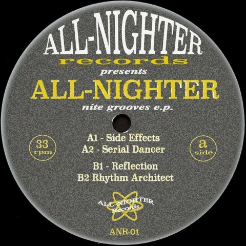 "( ANR 01 ) ALL NIGHTER - Nite Grooves EP (12"") All Nighter Spain"