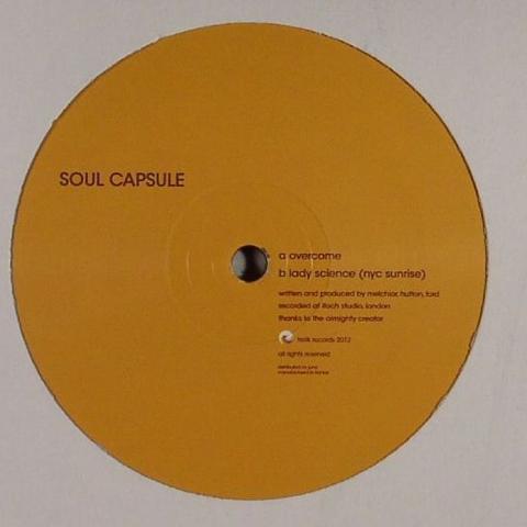 "( TR 11:11 ) SOUL CAPSULE - Overcome / Lady Science (NYC Sunrise) (12"") Trelik"