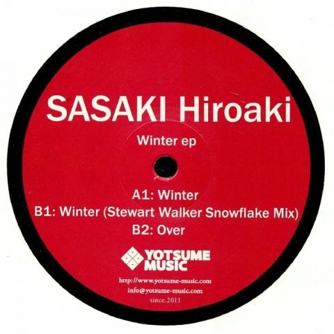 "( YOTSUME 002 ) Sasaki HIROAKI - Winter EP (12"") Yotsume Music Japan"