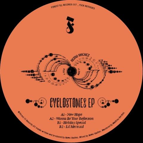 "( FIR 007 ) NEMO VACHEZ - Cyclostomes EP (12"" Vinyl) Forest Ill Records"