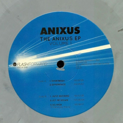 "( FFOR 018LTD ) ANIXUS - The Anixus EP Volume 1 (limited marbled 12"") Flash Forward"
