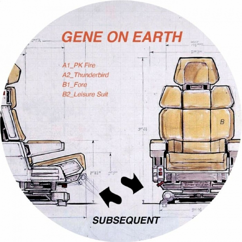 "( SUB 007 ) GENE ON EARTH - SUB 007 (repress 12"") Subsequent"