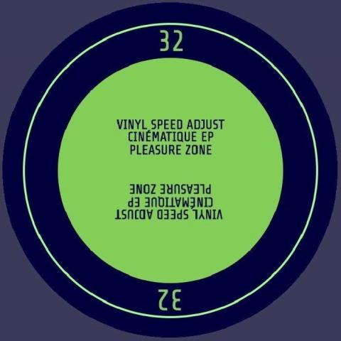 """( PLZ 032 ) VINYL SPEED ADJUST - Cinematique EP (12"""") Pleasure Zone Germany"""