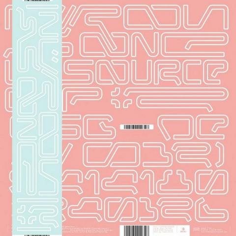 "( ASGDE 032LTD ) NURON / AS ONE - La Source 02 (180 gram clear red vinyl 12"" with obi-strip) De:tuned"