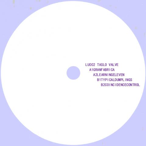 """( LU 002 ) Taslo Valve - Taslo Valve EP (12"""") Lunasa"""