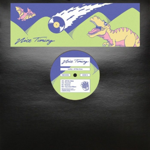 """(  NICE 002 ) ZACKY - All The Time (12"""") Nice Timing"""