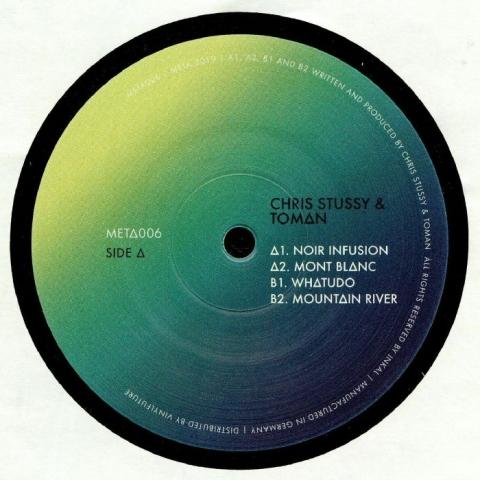 "( META 006 ) Chris STUSSY / TOMAN - Whatudo EP (12"") Meta Music Germany"