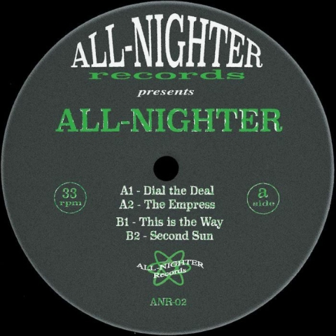 "( ANR 02 ) ALL NIGHTER - This Is The Way EP (12"") All Nighter Spain"