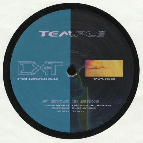 "( TMPLRE 01 ) EX TERRESTRIAL - Paraworld (reissue) (12"" repress) Temple"