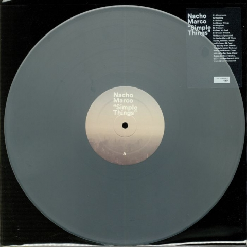 (  LDS 041 ) NACHO MARCO - Simple Things (limited silver vinyl LP) Loudeast