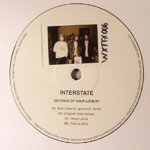 "( WXTFX 006 ) INTERSTATE - Seconds Of Your Love EP (12"") Waxtefacts"
