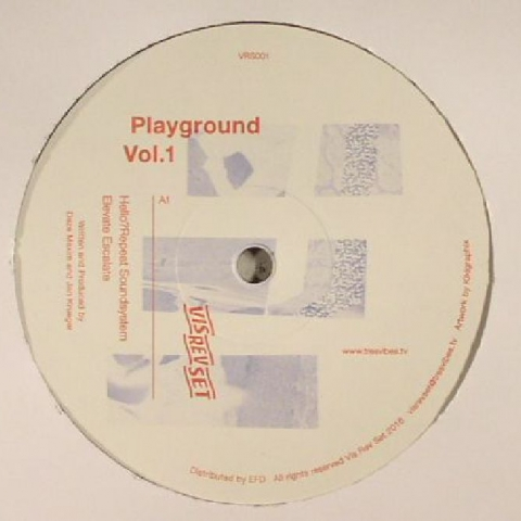 ( VRS 001) HELLO? REPEAT SOUNDSYSTEM / DEWALTA / DJ PI GE - Playground Vol 1 - Vis Rev Set