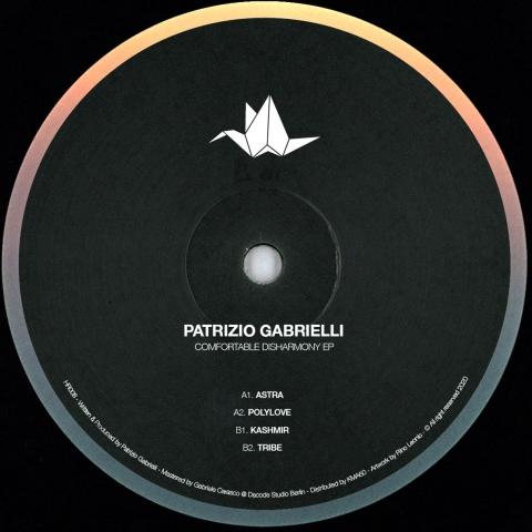 "( HR 008 ) PATRIZIO GABRIELLI - Comfortable Disharmony EP (12"") Heko"