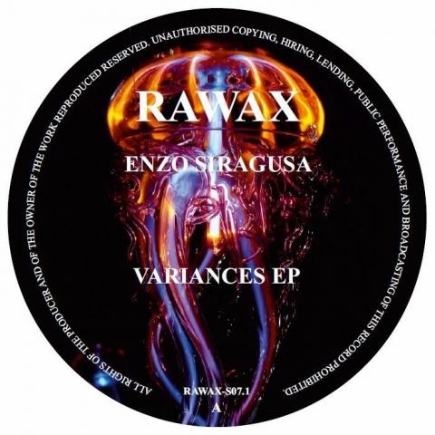 "( RAWAXS 071 ) Enzo SIRAGUSA - Variances EP (12"") Rawax Germany"