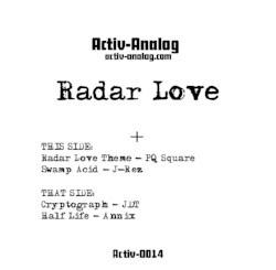 "( ACTIV-0014 ) V/A - Radar Love EP (vinyl 12"") Activ analog records"