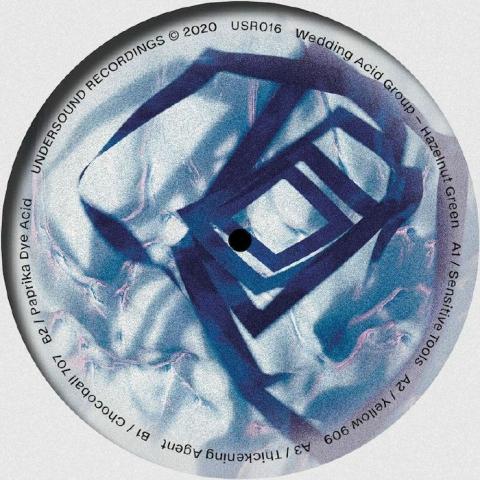 "( USR 016 ) WEDDING ACID GROUP - Hazelnut Green (12"") Undersound Recordings"