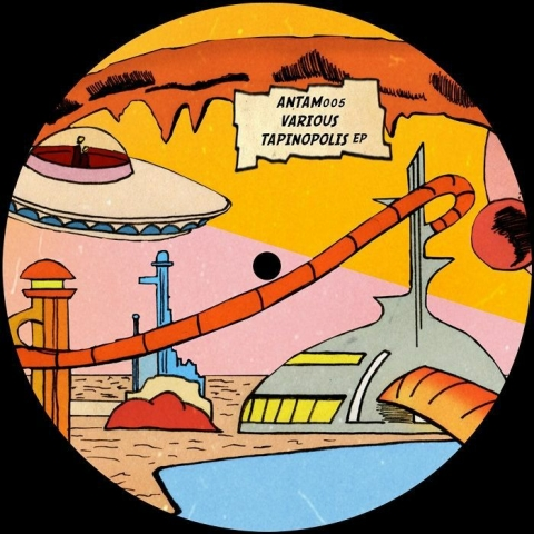 "( ANTAM 005 ) SAMUEL JABBA / BOK P - Tapinopolis EP (12"") Antam"