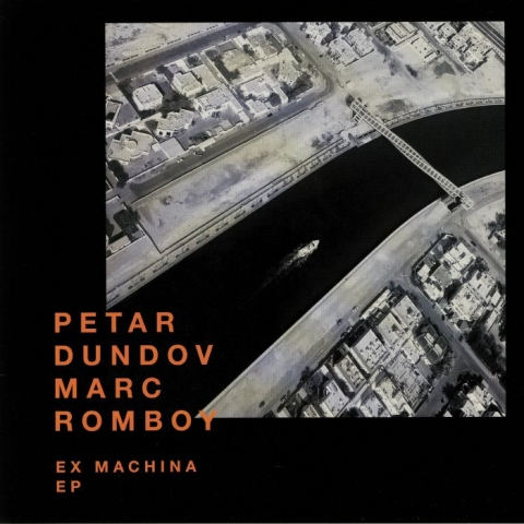 "( SYST 0125-6 ) Petar DUNDOV / MARC ROMBOY - Ex Machina EP (limited 12"") Systematic Germany"