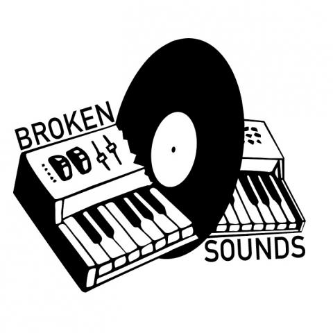 """( BSR 000 ) COSMONAUT - Gargolas / Intramundos (Ltd handstamped 12"""") Broken Sounds"""