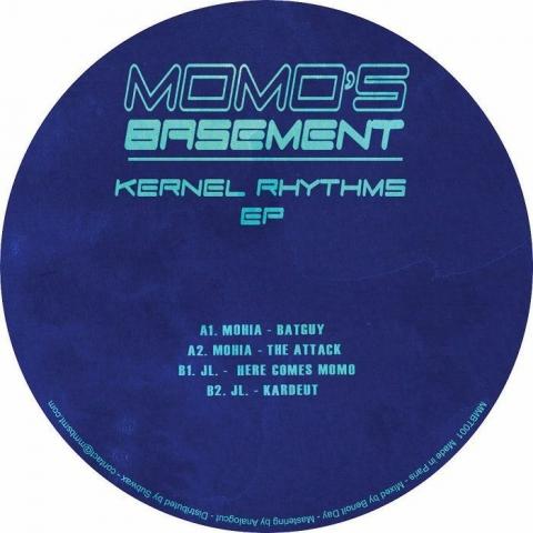 "( MMBT 001 ) MOHIA / JL - Kernel Rhythms EP (12"") Momo's Basement France"