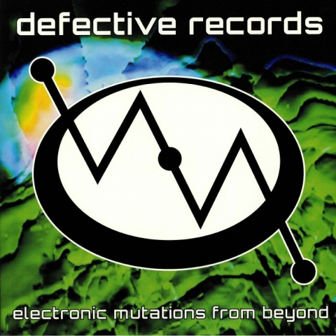 (  DR 032 ) VARIOUS - Electronic Mutations From Beyond (gatefold 2xLP) Defective US