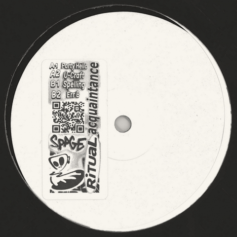 "( RAQ 001 ) SPAGE - Party Hello (12"") Ritual Acquaintance"